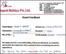 Travel Guide India Testimonial